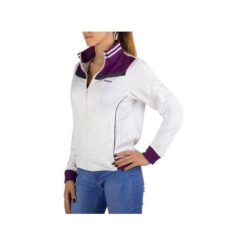 Bluza Reebok Ess. Pe Knit Jk K84972 - Biały ||Granatowy, poliester