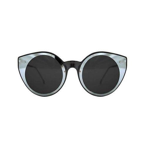 Spitfire Okulary słoneczne alpha select double lens black/silver mirror/black