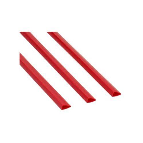 Grzbiet wsuwany 6mm czerwony 25k Standard