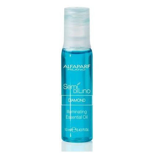 Alfaparf Semi Di Lino Diamond Essential Oil Esencjonalny Olejek Rozświetlający Do Włosów Normalnych, 12x13 Ml