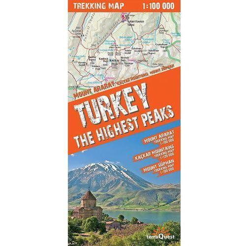 Turkey The Highest Peaks 1:100 000 Trekking Map, pozycja wydawnicza