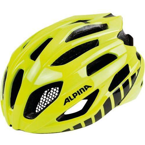 Alpina fedaia kask rowerowy żółty 53-58cm 2018 kaski rowerowe