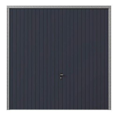 Brama garażowa uchylna 2375 x 2000 mm antracyt, BUI_GAR19_0002G