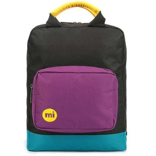 Mi-pac Plecak - tote backpack decon colour block-black/true plum (s04) rozmiar: os