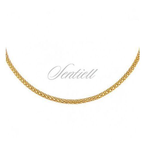 Silver chain (925) coreana gold plated - coreana450dis marki Sentiell
