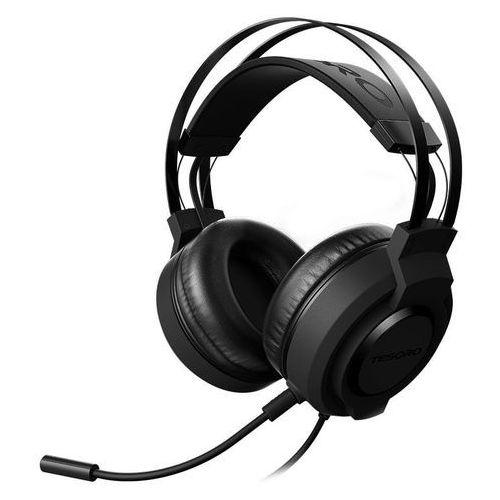 Tesoro Olivant A2 LITE - Słuchawki dla graczy z mikrofonem (czarny) DARMOWA DOSTAWA