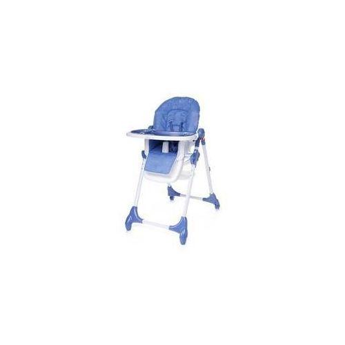 Krzesełko do karmienia decco blue niebieska marki 4baby