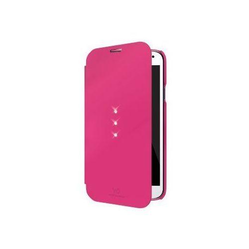 Etui WHITE DIAMONDS do Samsung S5 Mini Booklet Różowy, kolor różowy