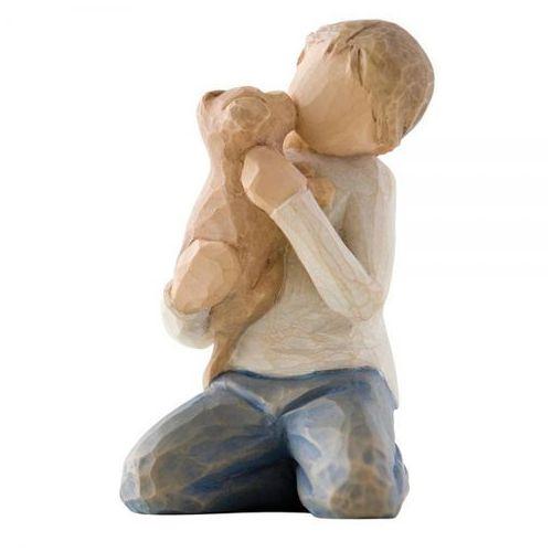 """Willow tree Chłopiec z piieskiem """"życzliwość"""" kindness (boy) 26217 susan lordi"""