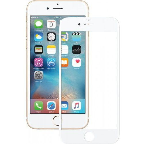 Szkło hartowane Mocolo 3D Full Cover Tempered Glass iPhone 6/6s White, 50576