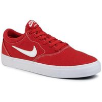 Nike Buty - sb charge cnvs cd6279 601 mystic red/white/mystic red
