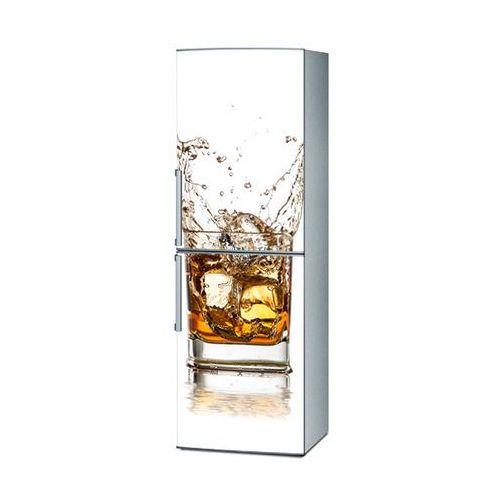 Mata magnetyczna na lodówkę - whiskey na białym tle 4293, marki Stikero