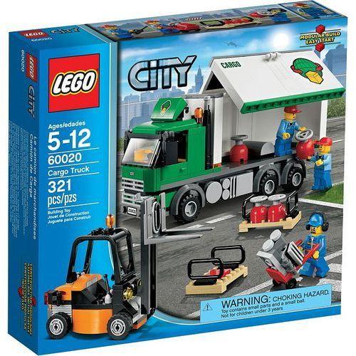 Lego CITY Ciężarówka 60020 wyprzedaż. Najniższe ceny, najlepsze promocje w sklepach, opinie.