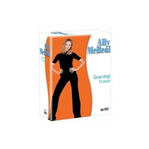 Imperial cinepix Ally mcbeal - sezon 2 (dvd) - darmowa dostawa kiosk ruchu (5903570132599)