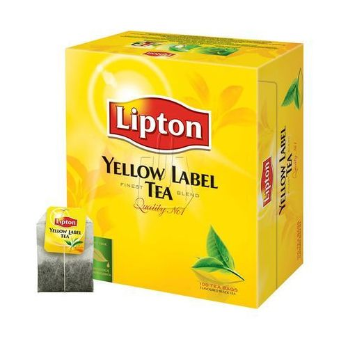 Herbata Lipton Yellow Label 100 torebek, BP3870