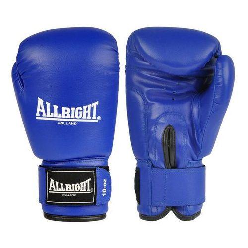 Allright Rękawice bokserskie pvc niebieskie