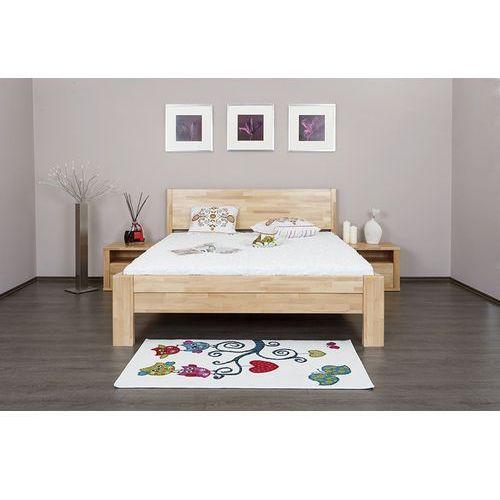 łóżko celin h1 dąb olejowany 180x200 (wybierz olejowanie) cm marki Dlaspania