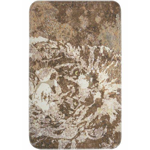 Bonprix Dywaniki łazienkowe z pianką memory brązowy