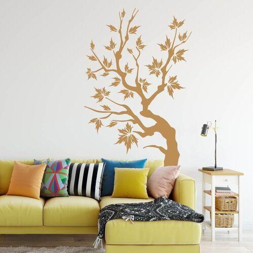 Wally - piękno dekoracji Szablon malarski drzewo 1104