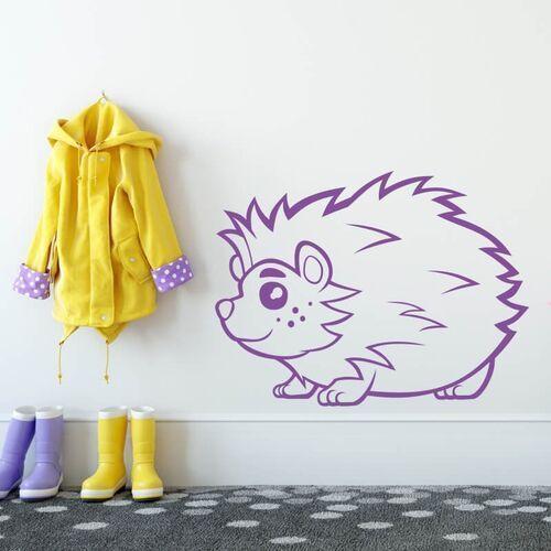 Wally - piękno dekoracji Naklejka na ścianę dla dzieci jeż 2407