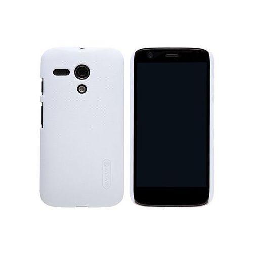 Etui Nillkin Frosted Shield Motorola Moto G Białe - Biały (6956473273486)