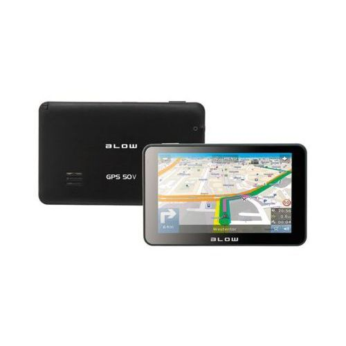 BLOW GPS50V AutoMapa PL 1 rok DARMOWA DOSTAWA DO 400 SALONÓW !! ()