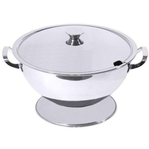 Waza na zupę ze stali nierdzewnej 4 l   , 4800/250 marki Contacto
