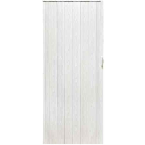Gockowiak Drzwi harmonijkowe 004 biały dąb 80 cm