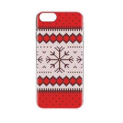 Etui FLAVR Case Ugly Xmas Sweater do Apple iPhone 7/iPhone 8 Czerwony (26972), kolor czerwony