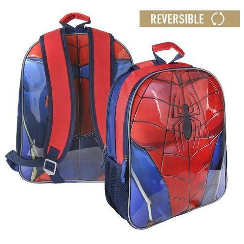 Plecak dwustronny Spiderman 41 cm