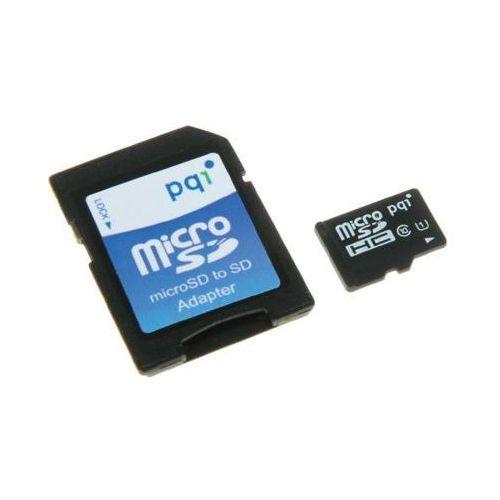 Karta pamięci microsdhc 32gb + sd adapter marki Pqi