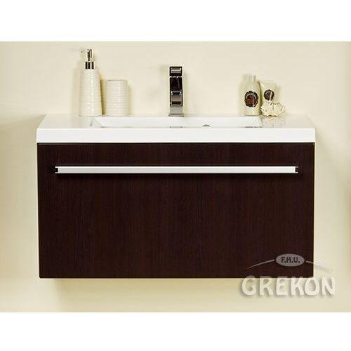 Szafka łazienkowa z umywalką 80/39 fokus wenge połysk marki Gante