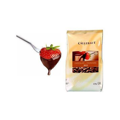 Callebaut Czekolada mleczna do fondue oraz fontann   2,5 kg