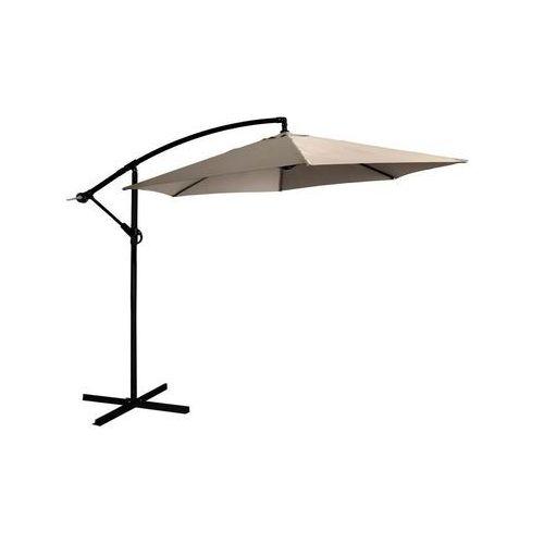 Parasol ogrodowy 300 cm JUMI beżowy (5900410755246)
