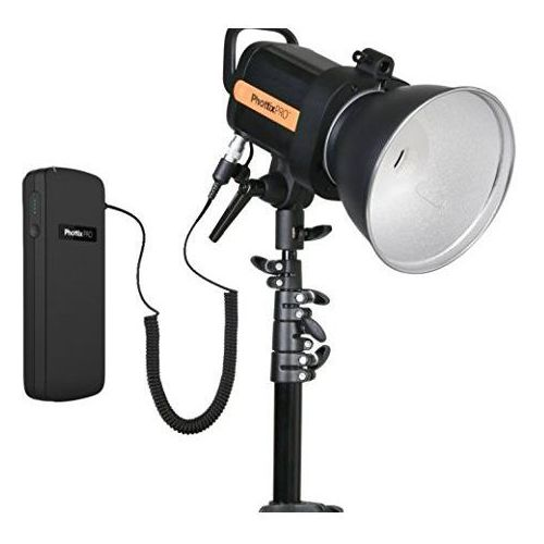 Phottix indra360 ttl – studio flash kit przy zasilaniu z akumulatorów, czarny (5901054002062)