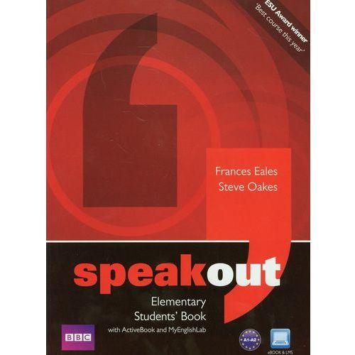 Speakout Elementary Students' Book With Activebook And Myenglishlab Z Płytą Dvd, oprawa miękka