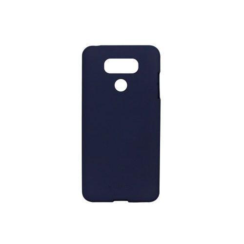 LG G6 - etui na telefon Mercury Goospery Soft Feeling - granatowy, kolor niebieski