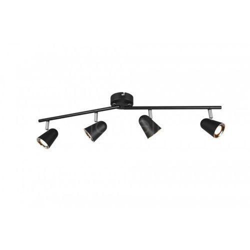 Lampa sufitowa Reality TOULOUSE LED Czarny, 4-punktowe - Nowoczesny - Obszar wewnętrzny - TOULOUSE - Czas dostawy: od 3-6 dni roboczych (4017807425192)