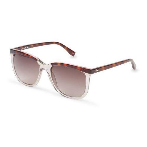 Okulary Przeciwsłoneczne Damskie Lacoste L824S Brązowe, kolor brązowy