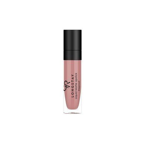 Golden Rose Longstay Liquid Matte Lipstick Matowa pomadka do ust w płynie 01, 8691190856014