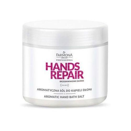 Farmona Hands Repair Aromatyczna sól do kąpieli dłoni 600g