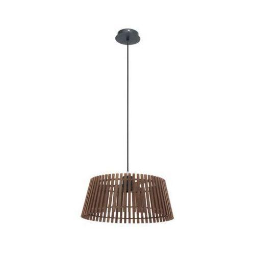 Lampa wisząca 1x60w narola orzech, 94014 marki Eglo