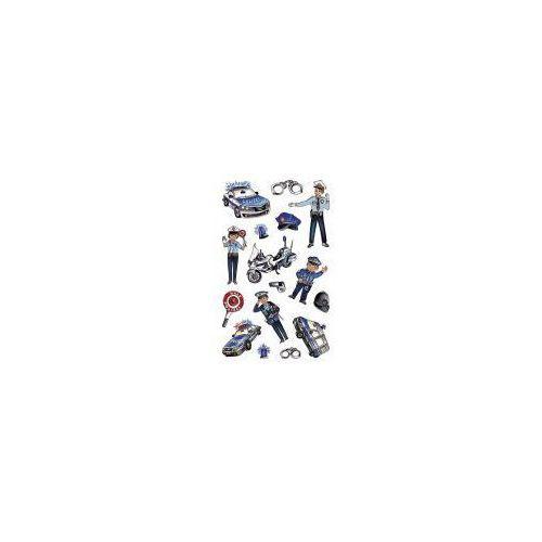 Naklejki foliowe metaliczne - policjanci (4004182567944)