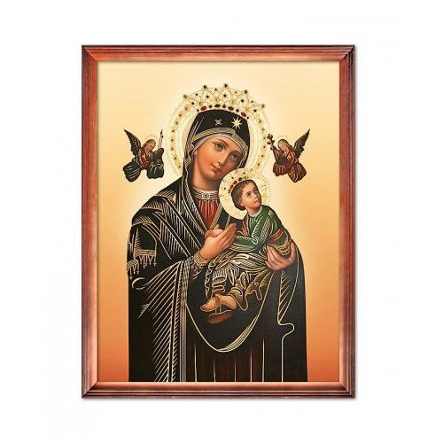 Produkt polski Obraz matka boża nieustającej pomocy