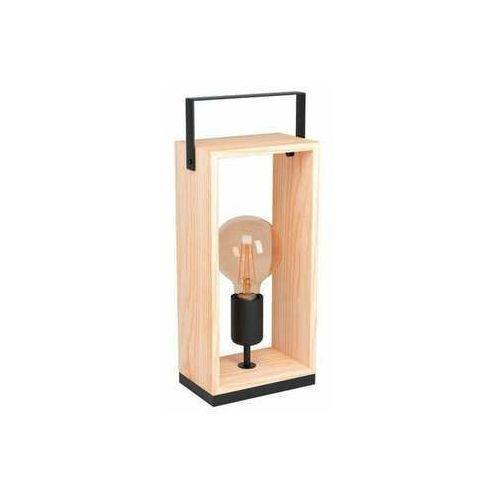 Eglo famborough 43415 lampa stołowa lampka 1x40w e27 drewno