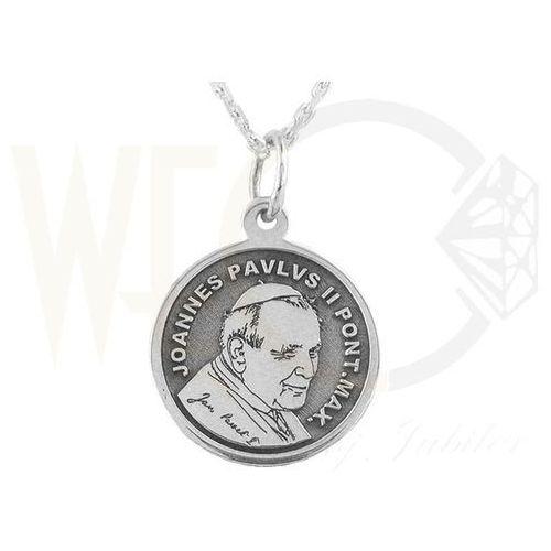 Medalik ze srebra z Świętym Janem Pawłem II, WEC-S-MED-JP-II-6 - produkt z kategorii- Dewocjonalia