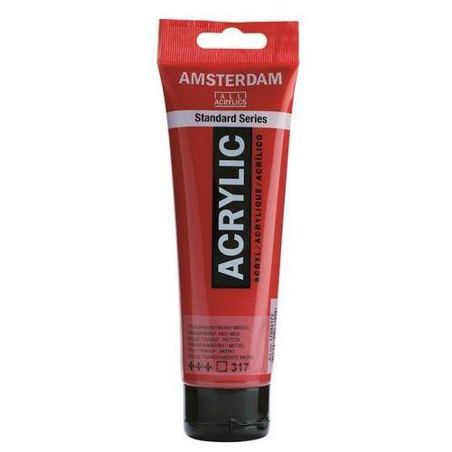 Talens amsterdam acryl farba 317 trans rd md 120ml