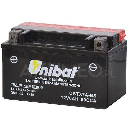 Unibat Akumulator agm cbtx7a-bs 12v 6ah 90a lewy+