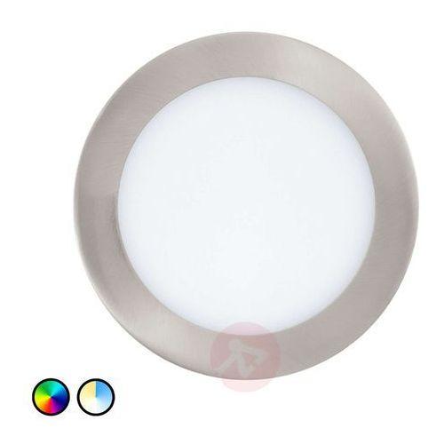 Plafon oprawa sufitowa do wbudowania Eglo Fueva-C 1x10,5W RGB LED biały/chrom 32754