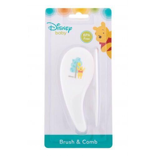 Disney winnie the pooh zestaw szczotka do włosów szt + grzebień do włosów szt dla dzieci (5060299566781)